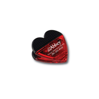 Heart Shaped Clip w/Magnet