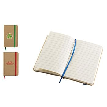 Ultra Notes Cardboard Colored Paper w/ 80 Sheet Spiral Notepad