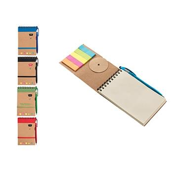 Ultra Notes Grained Cardboard Cover Spiral Bound Journal