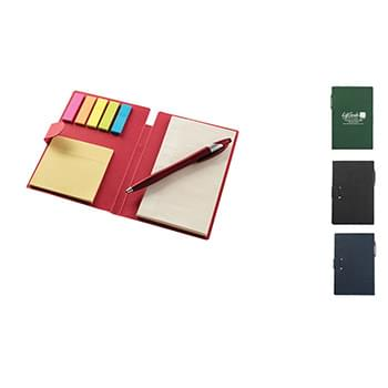 Ultra Notes Kraft Paper w/ Flat Finish Portfolio w/ Pen