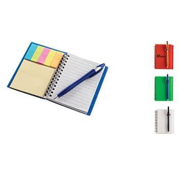 Ultra Notes Translucent PVC Cover w/ Spiral Bound Journal Book